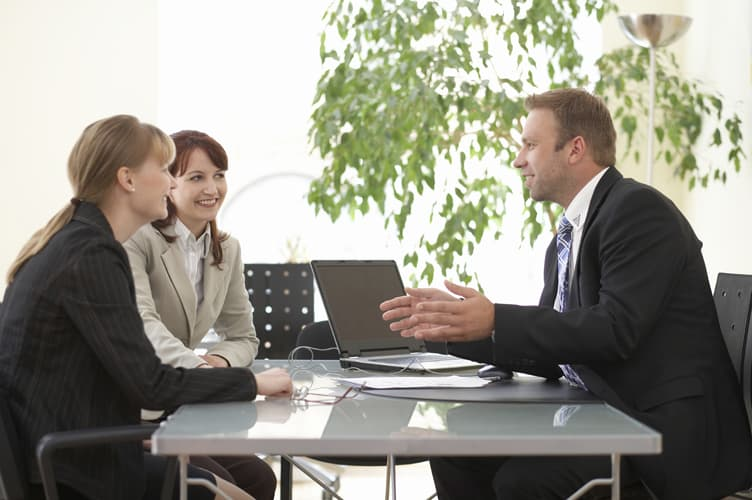 Negotiation 3 Business People small